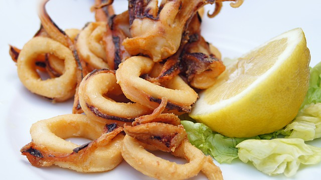 calamari-with-lemon